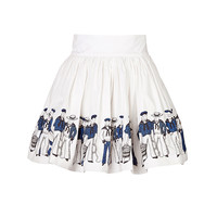 Olympia Le-Tan - Cotton Sailor Skirt
