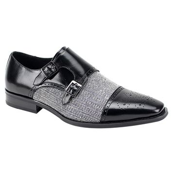 "Giovanni ""Eliot"" Double Monkstrap Cap Toe"