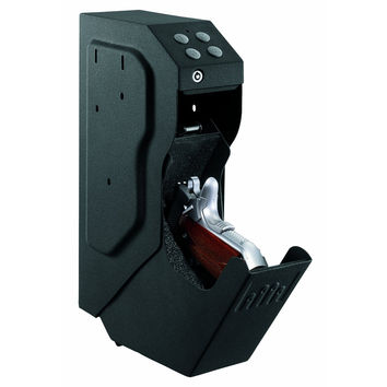 Quick Draw Handgun Pistol Gun Safe with Digital Keypad & Override Key