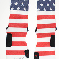 American Flag Custom Nike Elite Socks