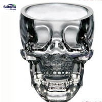 Skull Glass beer stein shot wine glass Head Whiskey Drinking popular design new fashion party