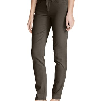 Women's Elysian Twill Slim Straight Jeans - Slightly Curvy | Eddie Bauer
