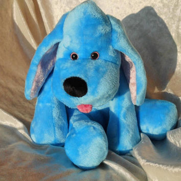 MADE-TO-ORDER - Heavenly Baby blue Spaniel Floppy cuddly Hound Puppy  handmade ooak Cocker Spaniel dog pet - unique soft toy stuffed animal