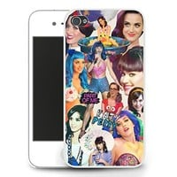 Katy Perry Part of Me Collage iPhone 5c Case - White
