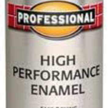 Rust-Oleum® Professional Protective Enamel Spray Paint, 15 Oz, Gloss Black