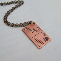 Thinking about you by SimplyChacha on Etsy