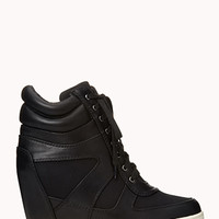 Sleek Wedge Sneakers