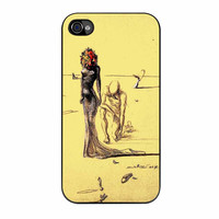 Salvador Dali Woman With Flower Head iPhone 4s Case