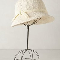 Kingsley Cloche by Anthropologie White One Size Hats