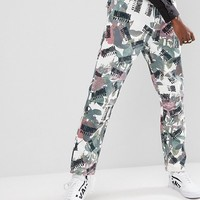 Billionaire Boys Club Trouser In All Over Floral Print at asos.com