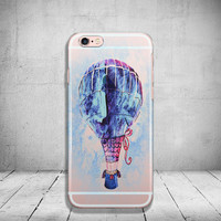 iPhone 6 Air Balloon Case Soft Clear iPhone 6s Case Clear iPhone 6 Case iPhone 5s Case iPhone 6s Plus Case Soft Silicone iPhone Case