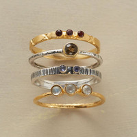 Galaxy Rings, Set Of 4                       | Robert Redford's Sundance Catalog
