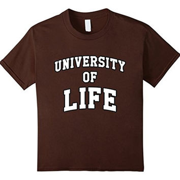 University of Life Academy T-shirt Tee Funny Harvard School
