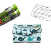 Epi Pen Case with Strap and Clip, Kids Epi Pen Pouch, Kids Allergy Bag with Medical Card