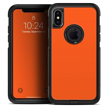 Solid Burnt Orange - Skin Kit for the iPhone OtterBox Cases