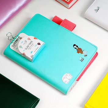 2017 2018 Japanese Classic Notebook Daily Monthly Yearly Planner Organizer Agenda Dairy Notebook Cover Matching Hobonichi A5 A6