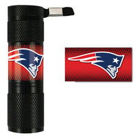 NFL New England Patriots 9x LED Flashlight