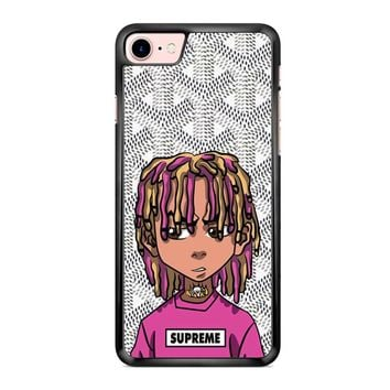 Lil Pump Esskeetit Goyard White iPhone 7 Case