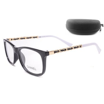 Chanel Women Edgy Optical Clear Lens Fashion Brand Designer Eyeglasses Glasses