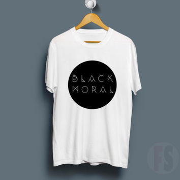 The Gazette Black Moral Circle Logo Fans Music Tour White T Shirt Size S-XL