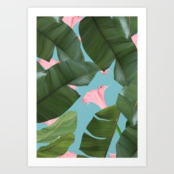 Wild Flower #society6 #decor #buyart Art Print by 83 Oranges™