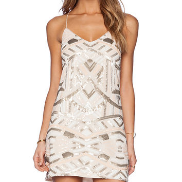SAYLOR Talia Dress in Ivory