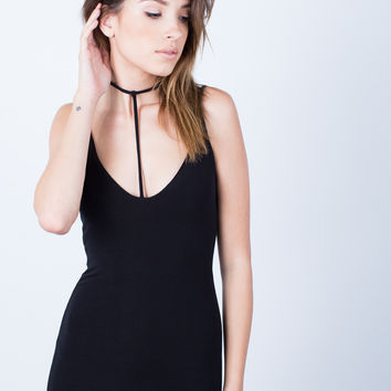 Cami Choker Dress