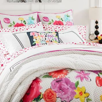 MayBaby Mod Floral Quilt + Sham