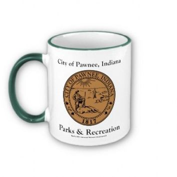 PARKS AND RECREATION CITY OF PAWNEE RINGER MUG