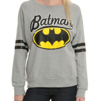 DC Comics Batman Grey Girls Pullover Top