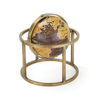"Eclipse Home Collection Vasco Globe 9.5"" H  x 9"" Dia."