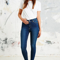 Cheap Monday Spray On Mid-Rise Jeans in Blue - Urban Outfitters