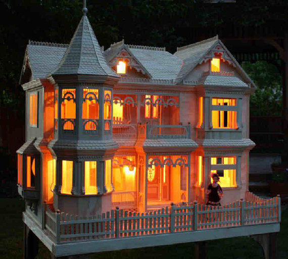 Victorian Barbie Doll House Woodworking From Paulitransfers On