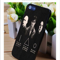 Deathly Hallows harry potter iPhone for 4 5 5c 6 Plus Case, Samsung Galaxy for S3 S4 S5 Note 3 4 Case, iPod for 4 5 Case, HtC One for M7 M8