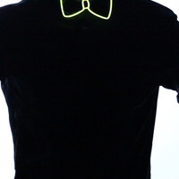 Light Up Bow Tie- Yellow