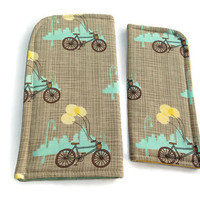 Sunday Afternoon in the City Eyeglass or Sunglass Case Protective Padded Pouch Choose your Size