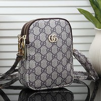 GUCCI Louis Vuitton LV Women Fashion Leather Crossbody Shoulder Bag Satchel