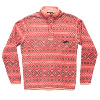 Pisgah Aztec Pullover in Washed Red by Southern Marsh - FINAL SALE