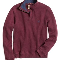 French Rib Half-Zip - Brooks Brothers