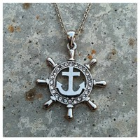 Fabulous Anchor Necklace