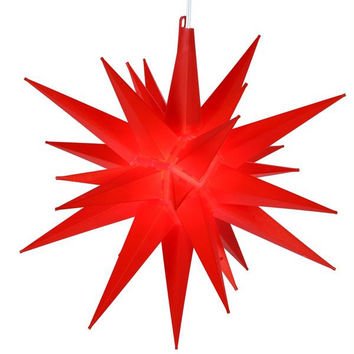 Moravian Star Christmas Light - Illuminated With One Type E12 Bulb(bulb Is Included)