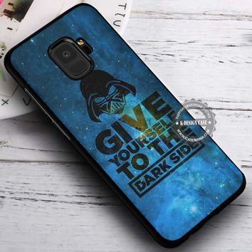 Dark Side Darth Vader Star Wars iPhone X 8 7 Plus 6s Cases Samsung Galaxy S9 S8 Plus S7 edge NOTE 8 Covers #SamsungS9 #iphoneX