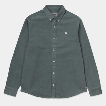 Madison Cord Shirt in Cloudy