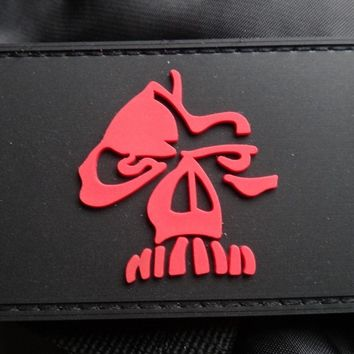 GORILLA SHADOW SKULL 3D TACTICAL WARRIOR ARMY MORALE PVC RUBBER PATCH Raider Skull SFG SAS JTF2 KSK PATCH