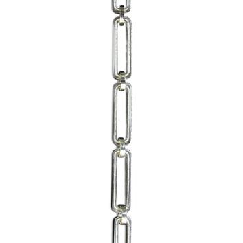 [Chain 28] Rectangle-Hinge Rounded Chandelier Chain