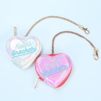 HOLOGRAM HEART BREAKER COIN PURSE