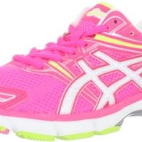 ASICS Women's GT-1000 Running Shoe,Electric Punch/White/Highlighter Yellow,7.5 B US