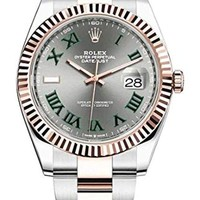 DCCK Rolex Datejust 41 mm 126331 18K Rose Gold/Stainless Steel Oyster Man's Watch