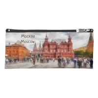 Moscow, Russia, Manezhnaya Square. Pencil Case