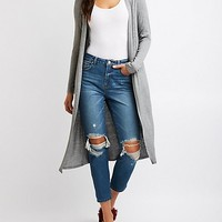 Open-Front Duster Cardigan | Charlotte Russe